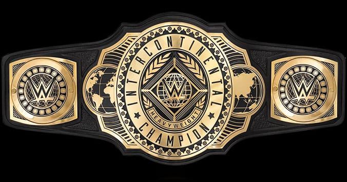 New WWE Intercontinental Championship Title Belt 2019