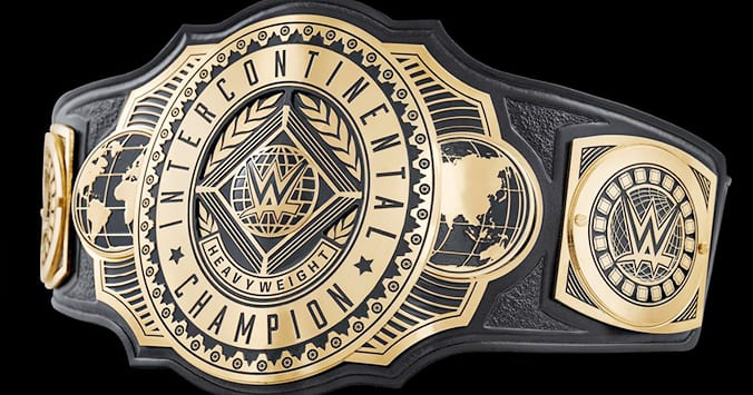 New WWE Intercontinental Heavyweight Championship Title Belt 2019