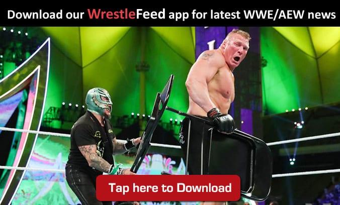 Rey Mysterio Brock Lesnar WrestleFeed