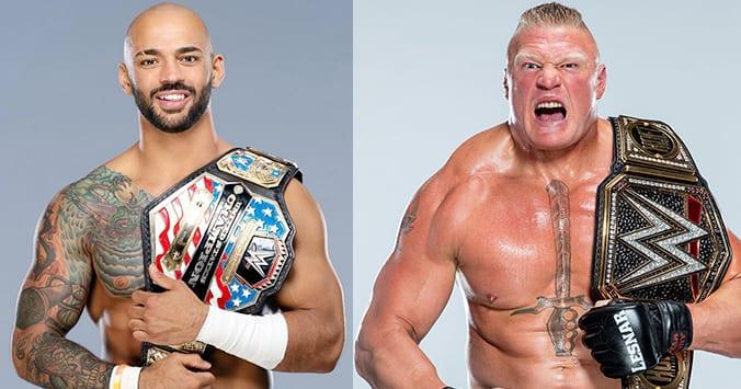 Ricochet vs Brock Lesnar