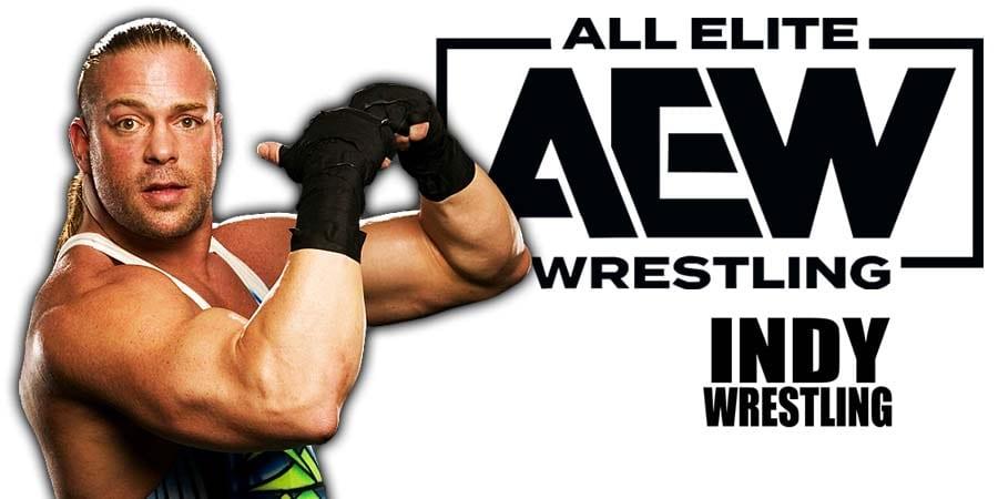 Rob Van Dam RVD AEW All Elite Wrestling