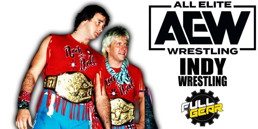 Rock N Roll Express AEW Full Gear