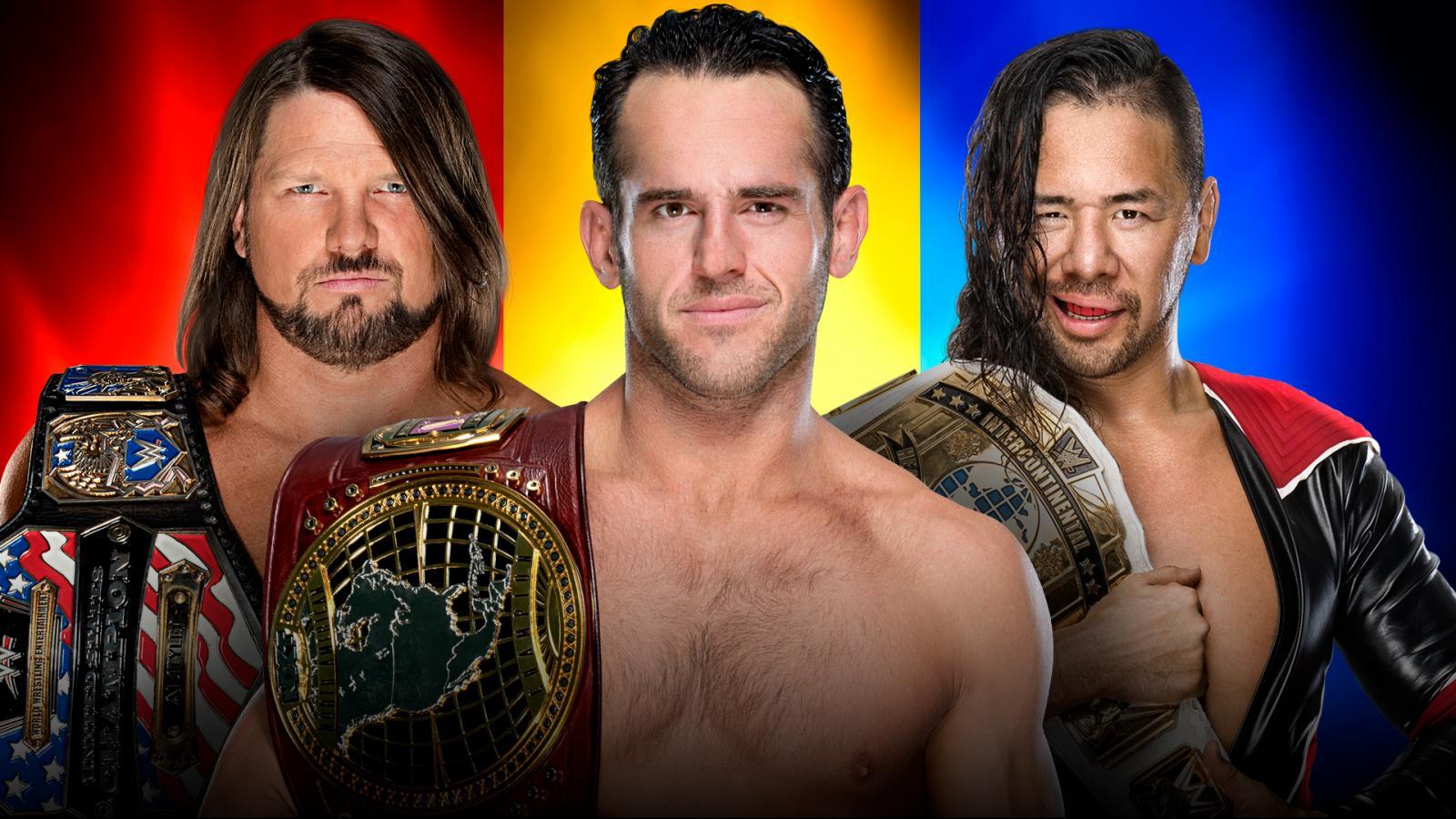 Roderick Strong vs AJ Styles vs Shinsuke Nakamura