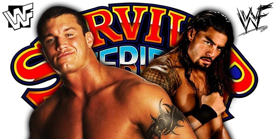 Roman Reigns Randy Orton Survivor Series 2019