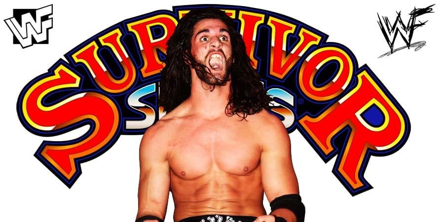 Seth Rollins WWF WWE Survivor Series