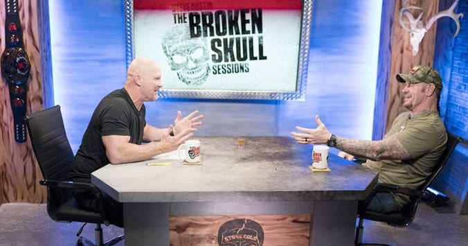 Stone Cold Steve Austin The Undertaker Broken Skull Sessions WWE Network