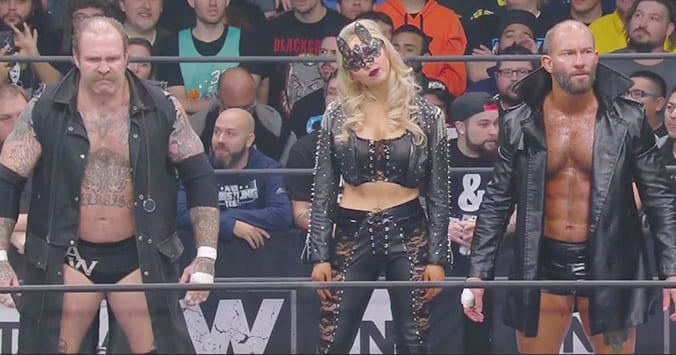 The Blade The Butcher Allie AEW Dynamite