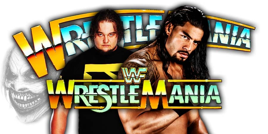 The Fiend Bray Wyatt vs Roman Reigns - WWE WrestleMania 36 Main Event