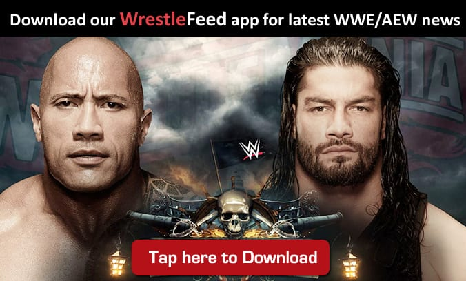 The Rock Roman Reigns WrestleFeed App