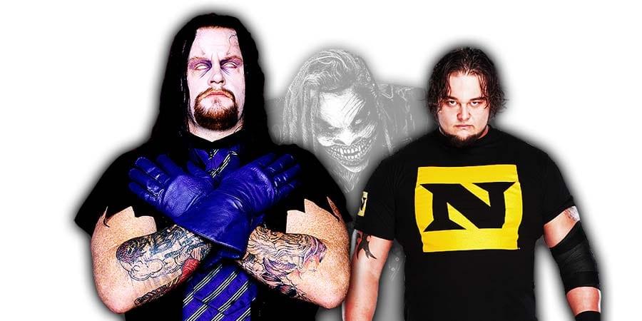 The Undertaker Bray Wyatt The Fiend Match