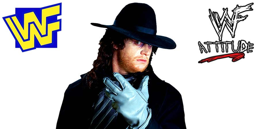 The Undertaker Early 1990s WWF