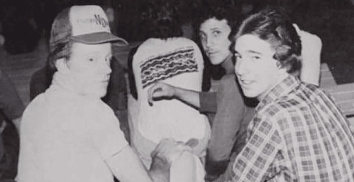 The Undertaker Mark Calaway as a kid