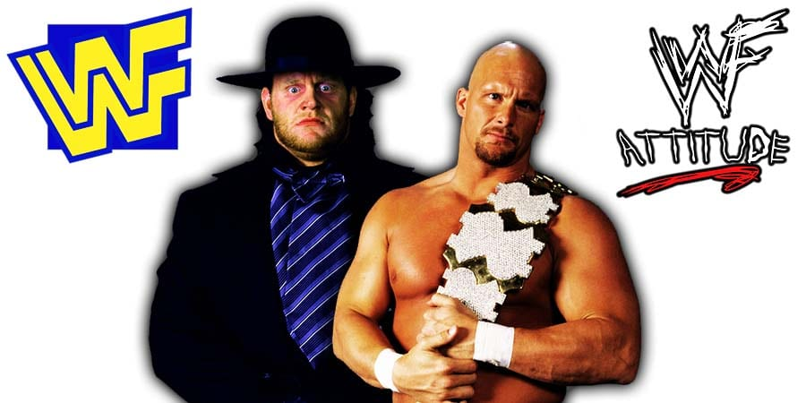 The Undertaker Stone Cold Steve Austin WWF