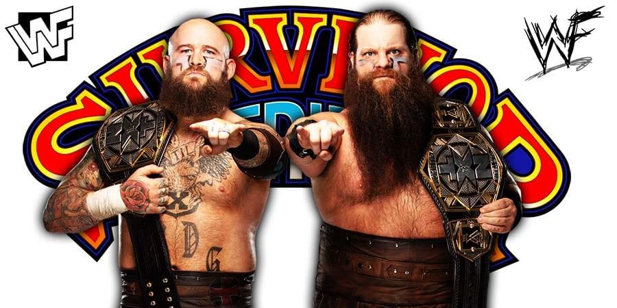 The Viking Raiders Win At Survivor Series 2019