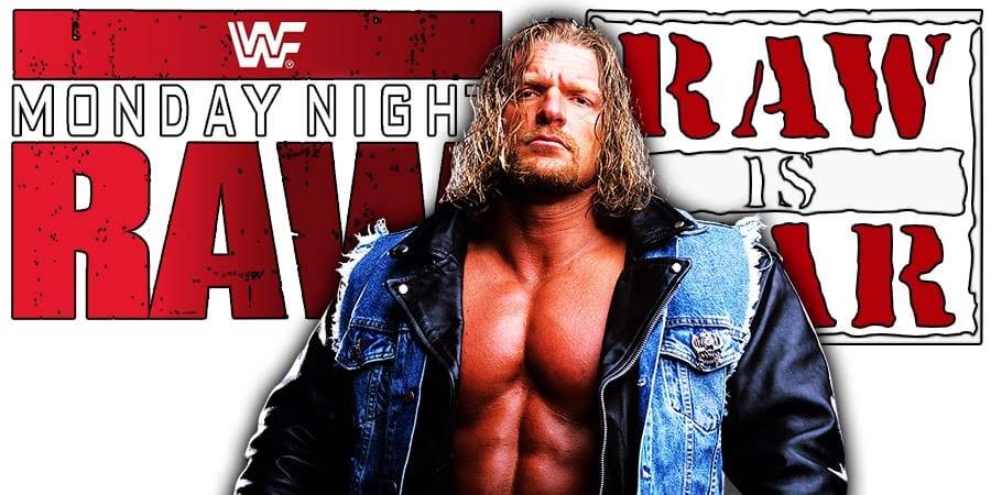 Triple H WWF WWE RAW