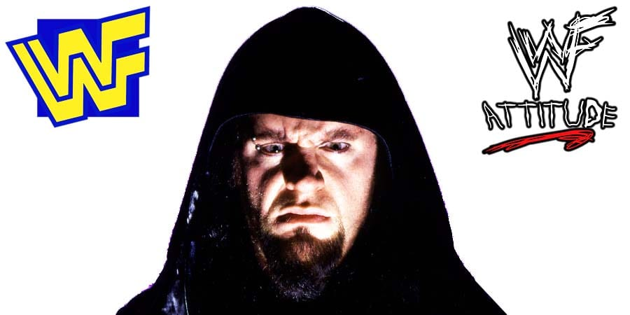 Undertaker 1999 WWF Face