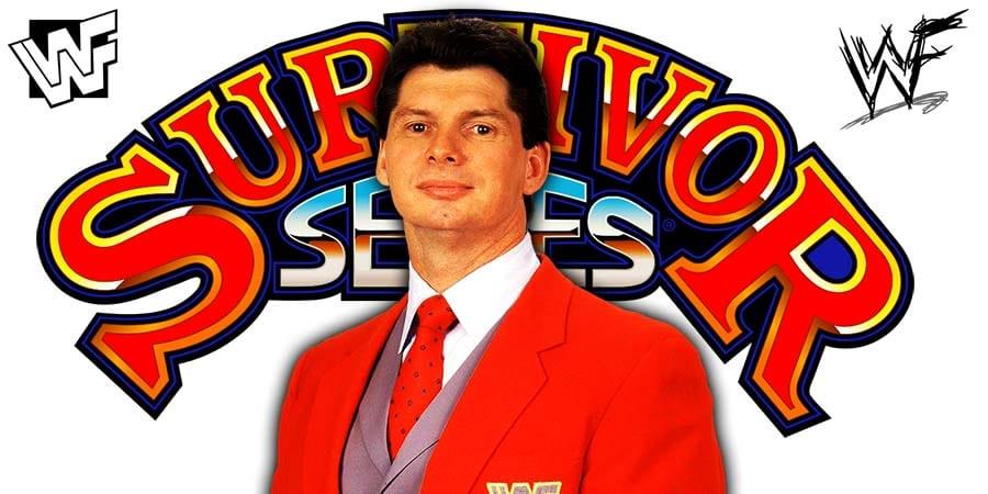 Vince McMahon Survivor Series