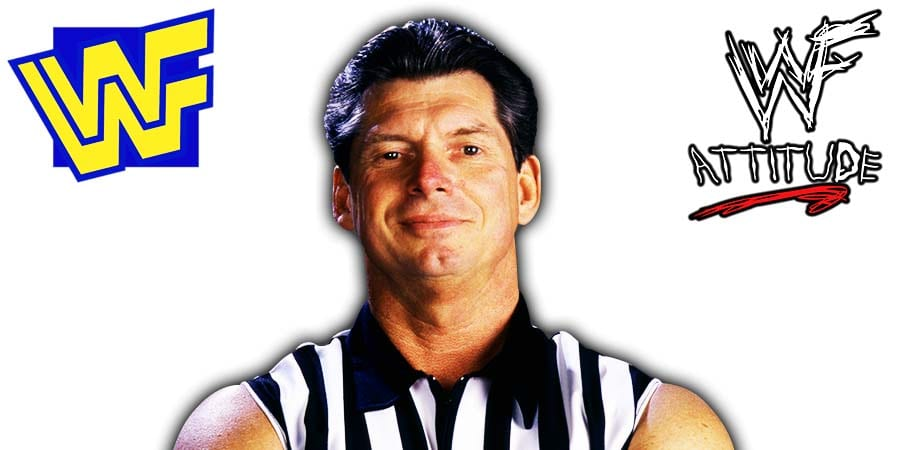Vince McMahon WWF Referee