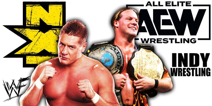 WWE NXT vs AEW Dynamite Chris Jericho William Regal