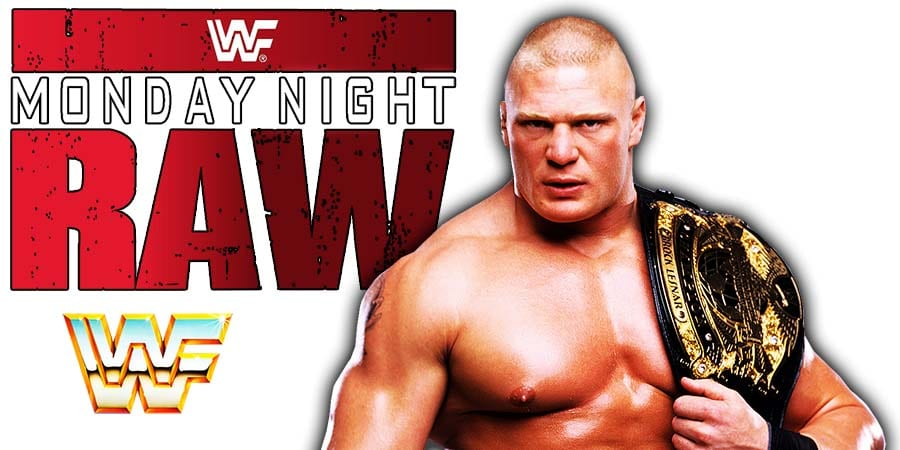 WWE Undisputed Champion Brock Lesnar RAW
