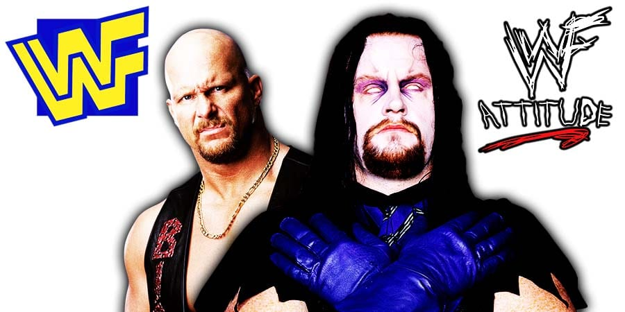 WWF Stone Cold Steve Austin The Undertaker