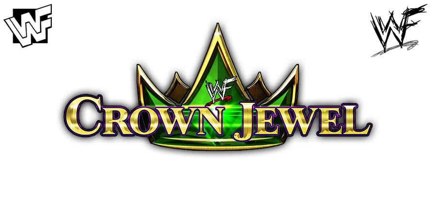 WWF WWE Crown Jewel Logo