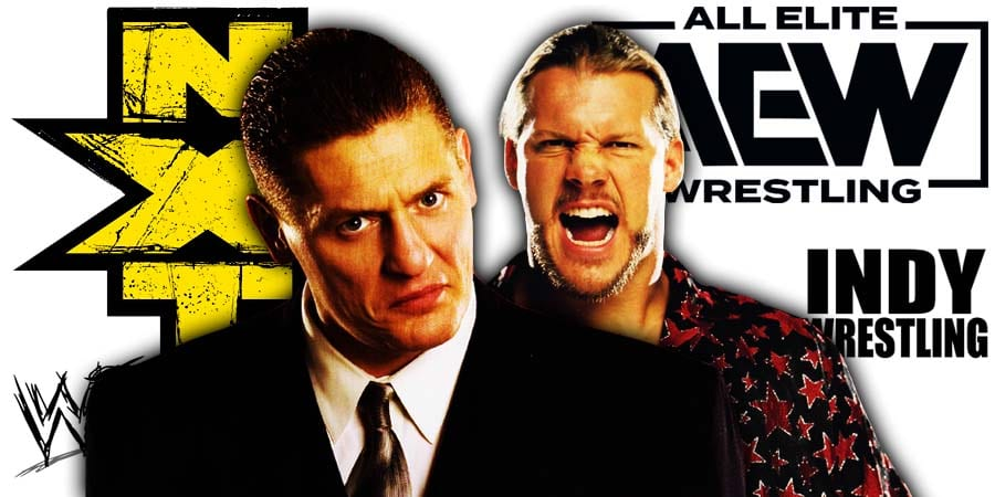 William Regal Chris Jericho WWE NXT AEW Dynamite