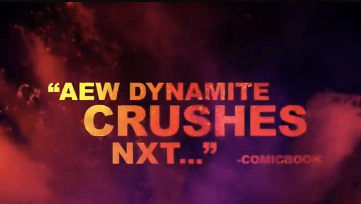 AEW Crushes NXT