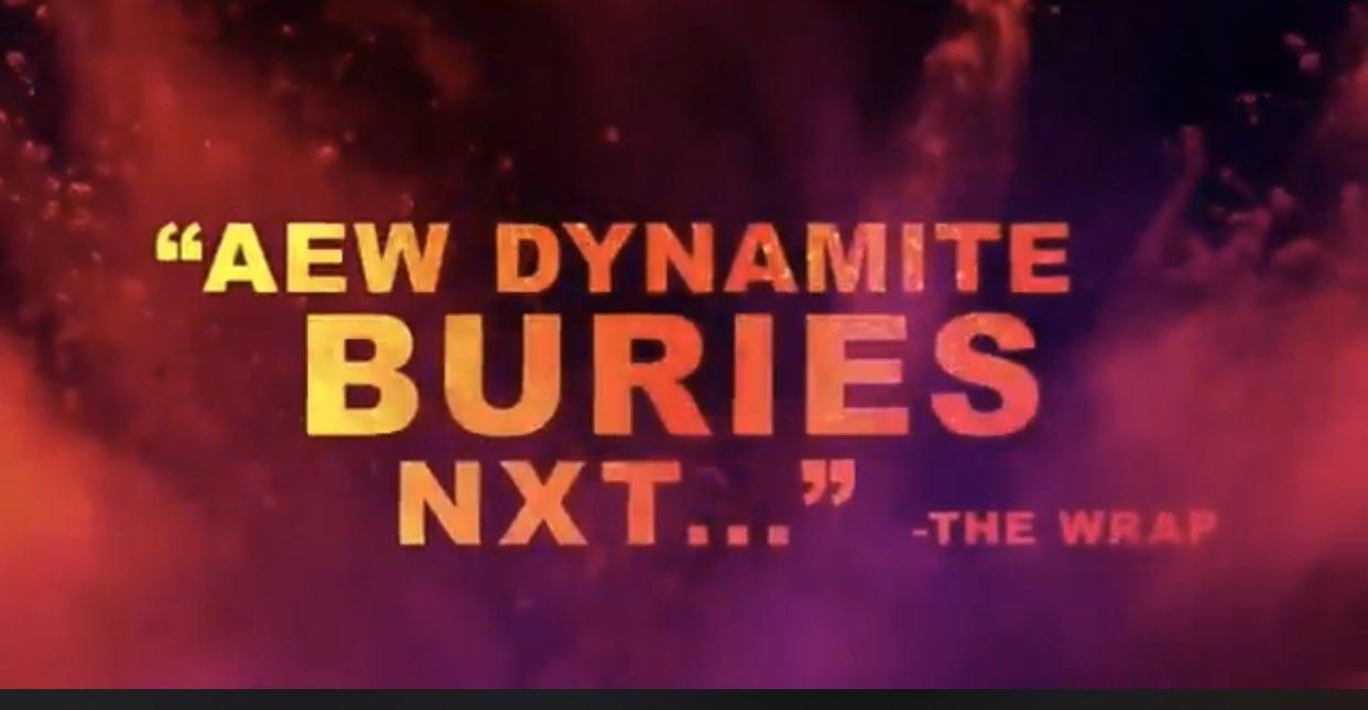 AEW Dynamite Buries NXT