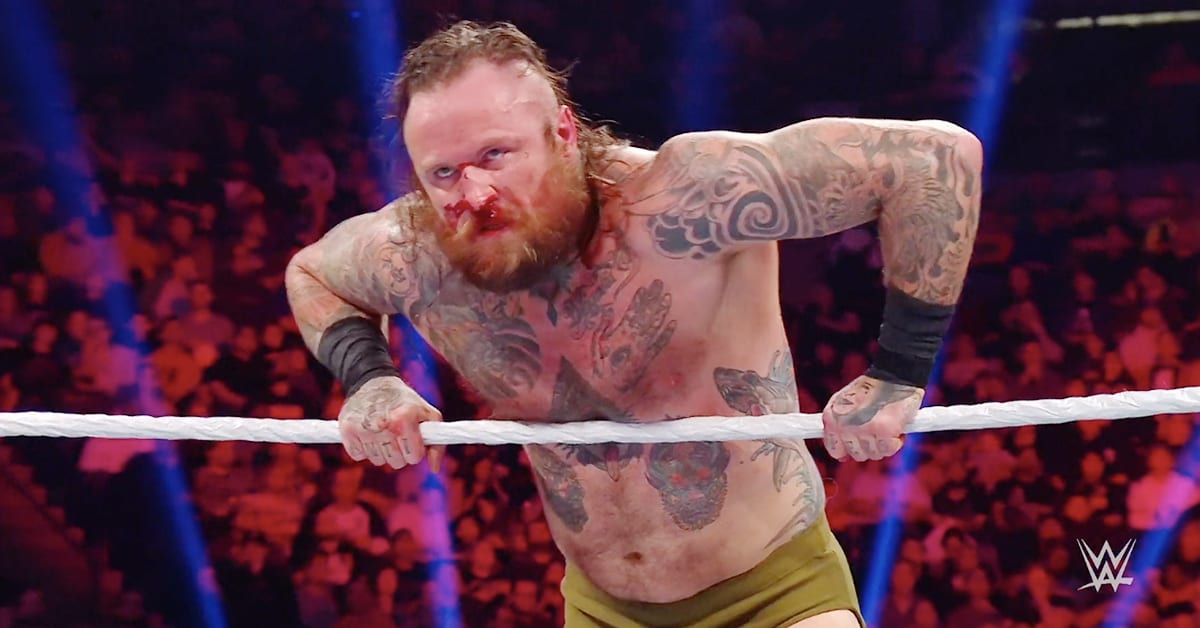Aleister Black Busted Open At WWE TLC 2019