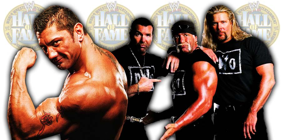 Batista nWo WWE Hall Of Fame Class Of 2020