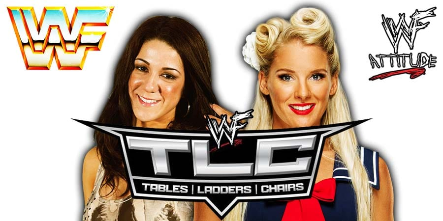 Bayley vs Lacey Evans - WWE TLC 2019