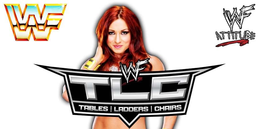 Becky Lynch WWE TLC 2019