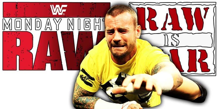 CM Punk RAW