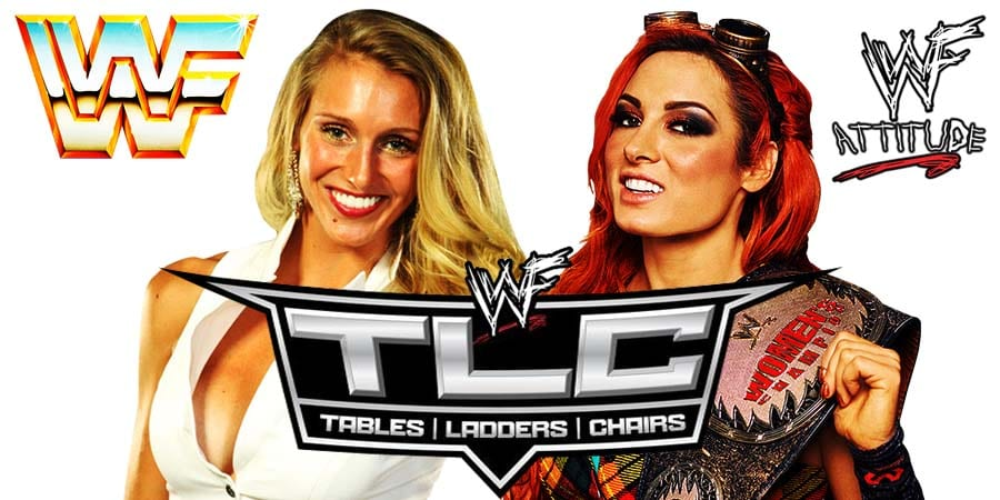 Charlotte Flair and Becky Lynch lose at WWE TLC 2019
