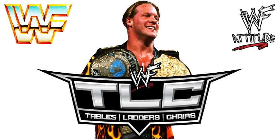 Chris Jericho WWE TLC 2019