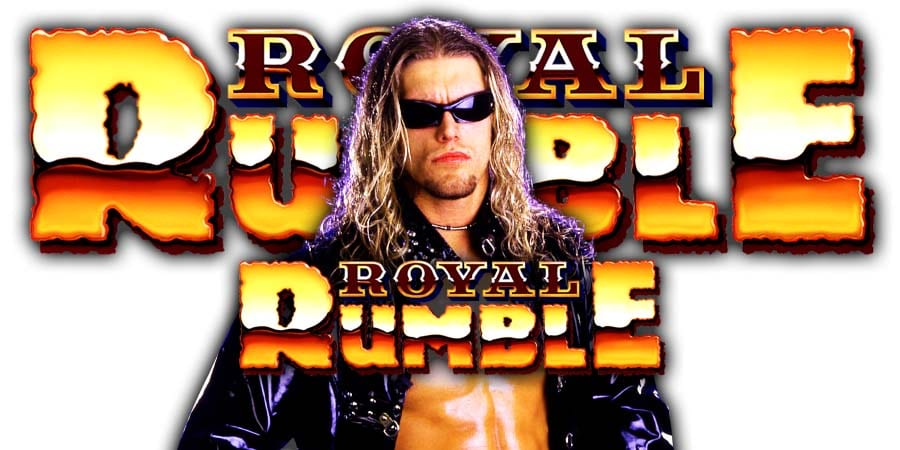 Edge Royal Rumble 2020