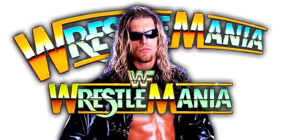 Edge WrestleMania 36