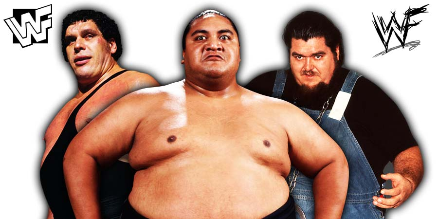 Heaviest Wrestlers Of All Time
