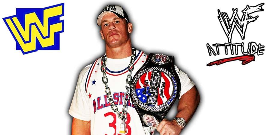 John Cena US Title Spinner WWE WWF