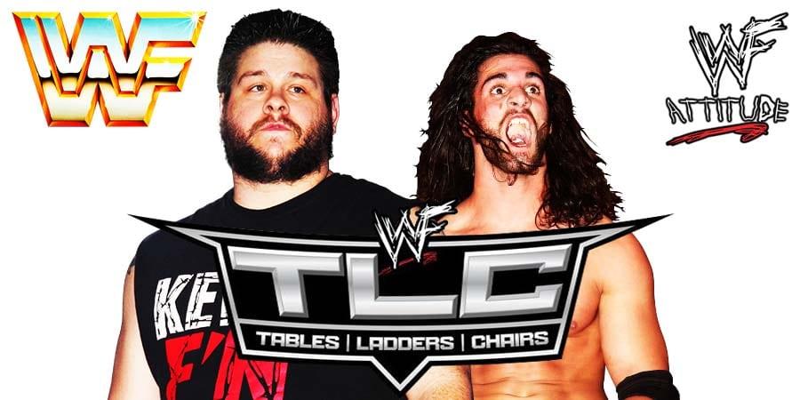 Kevin Owens vs Seth Rollins - WWE TLC 2019