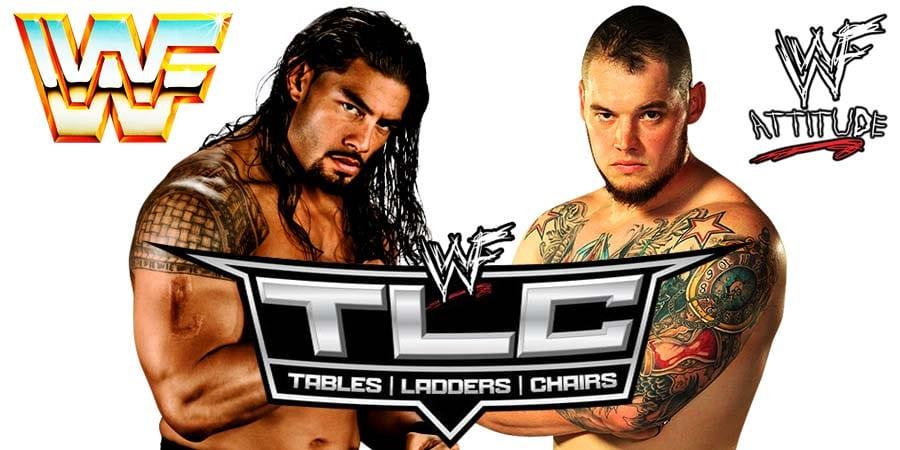 King Corbin defeats Roman Reigns at WWE TLC 2019