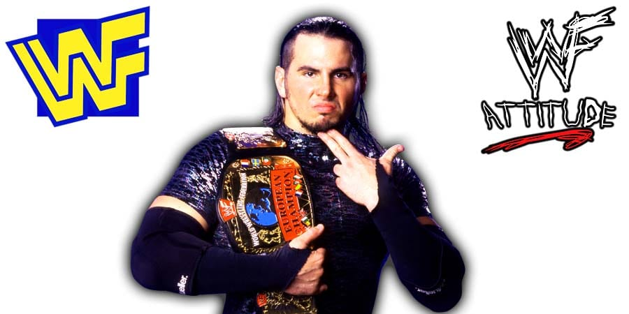 Matt Hardy WWF European Champion