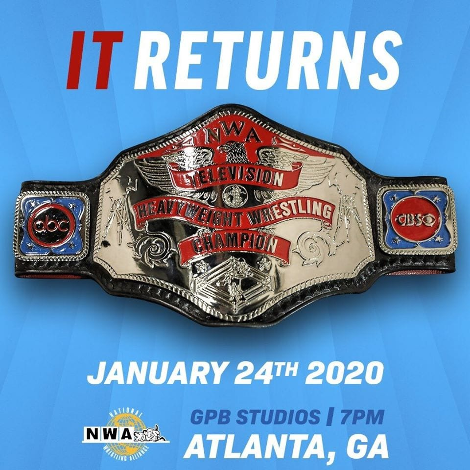 NWA TV TItle Returning In 2020