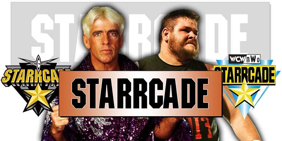 Ric Flair Kevin Owens WWE Starrcade 2019