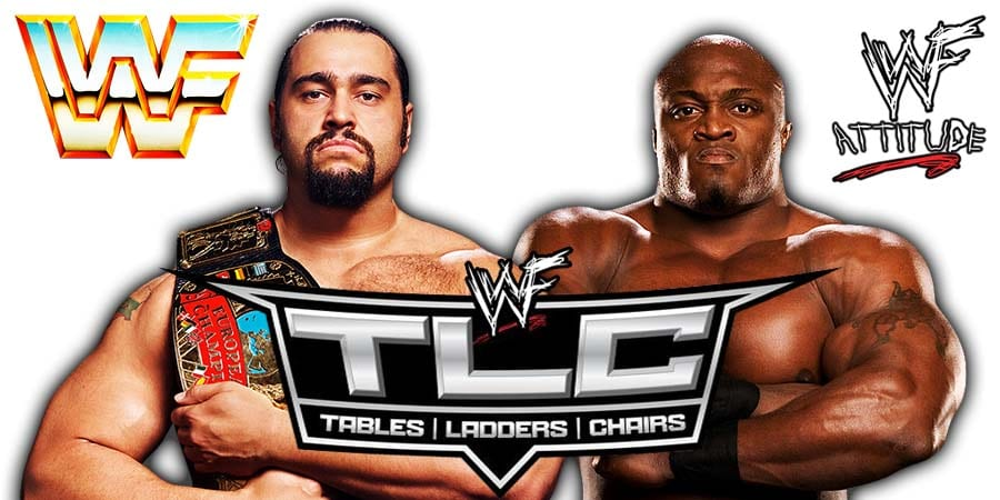 Rusev vs Bobby Lashley - TLC 2019