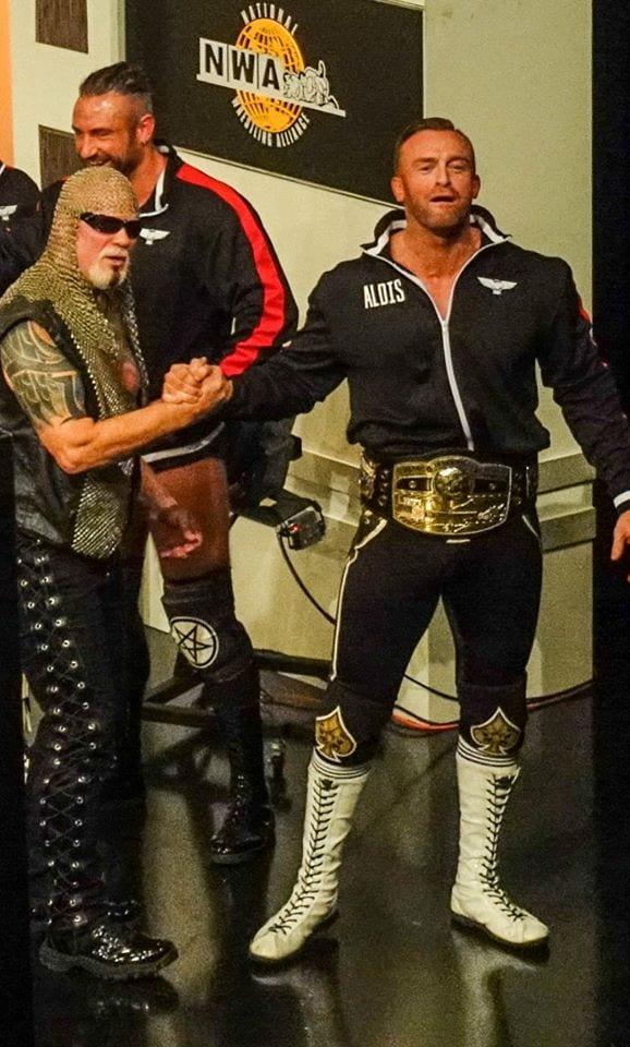 Scott Steiner NWA Powerrr Nick Aldis