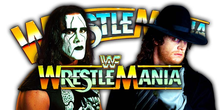 Sting vs The Undertaker - WWF WWE WrestleMania