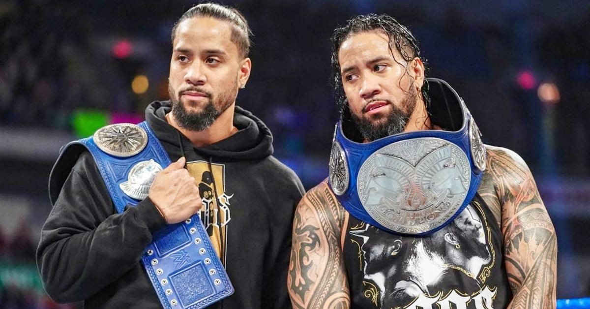 The Usos WWE SmackDown Tag Team Champions