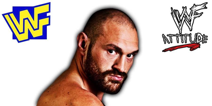 Tyson Fury WWF WWE